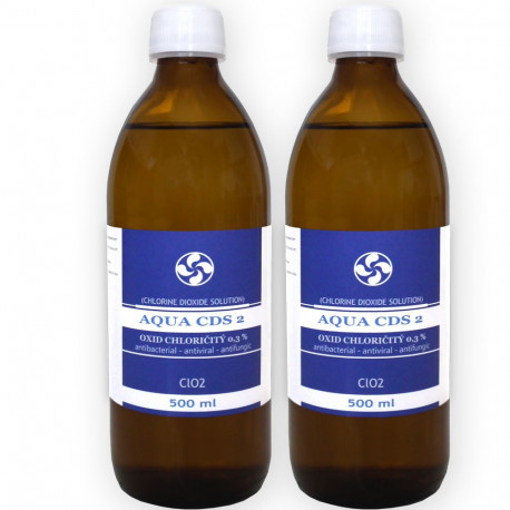 2x AQUA CDS 2  MMS 500ml