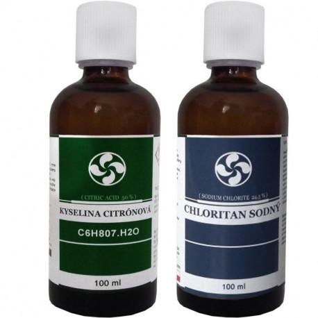 Chloritan sodný MMS Kvapky